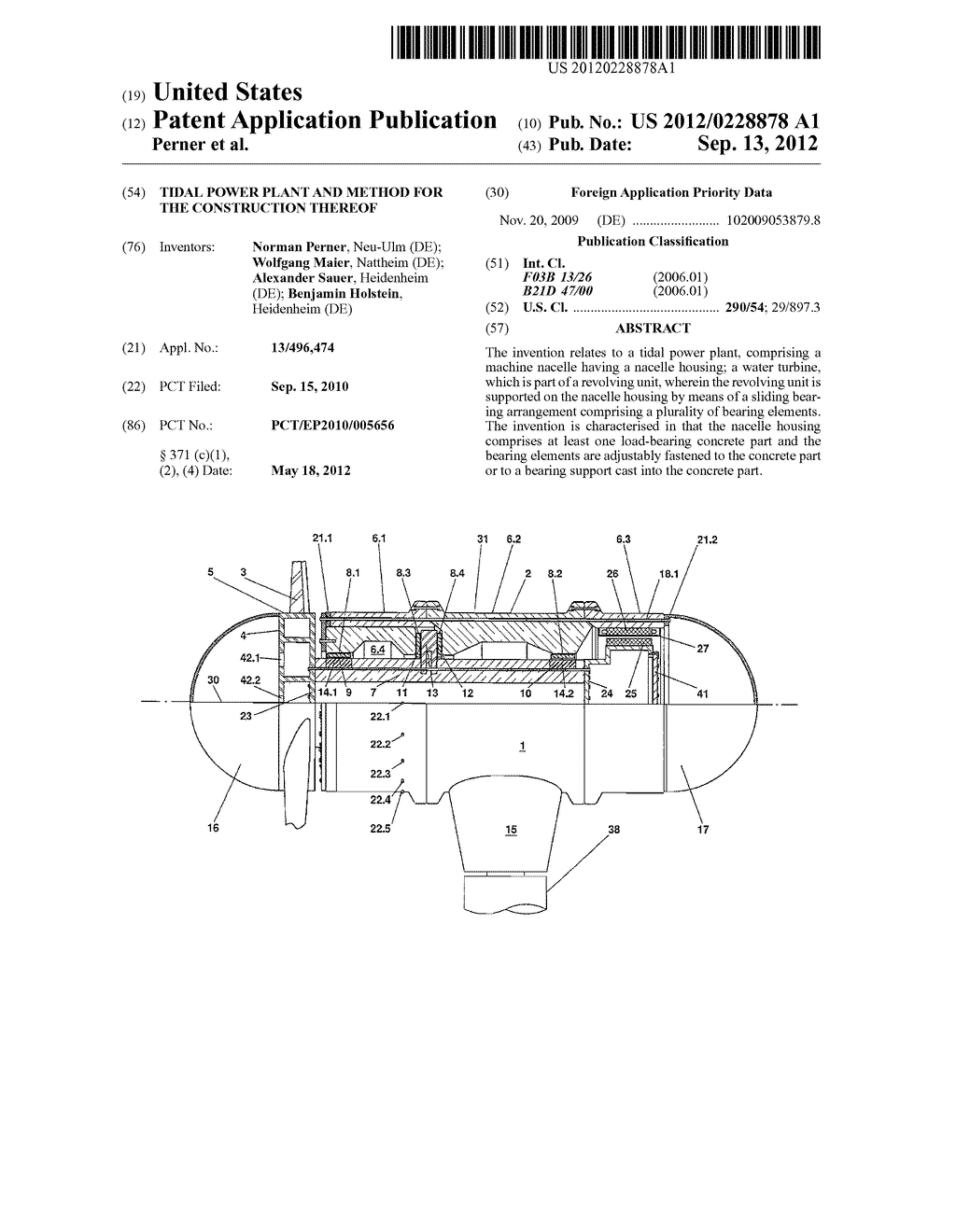 hight resolution of tidal power plant and method for the construction thereof diagram schematic and image 01