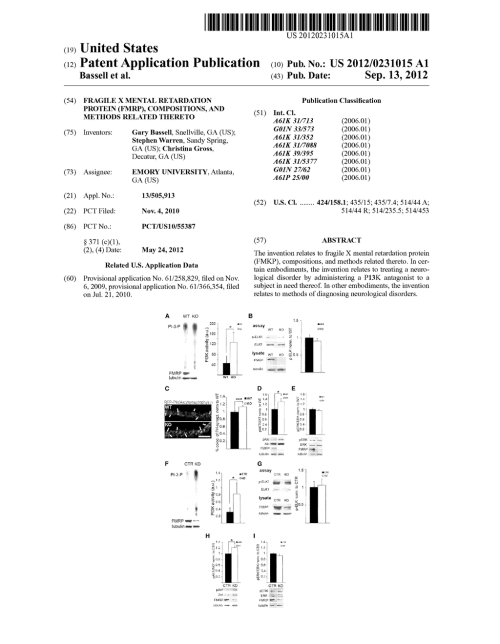 small resolution of fragile x mental retardation protein fmrp compositions and methods related thereto diagram schematic and image 01