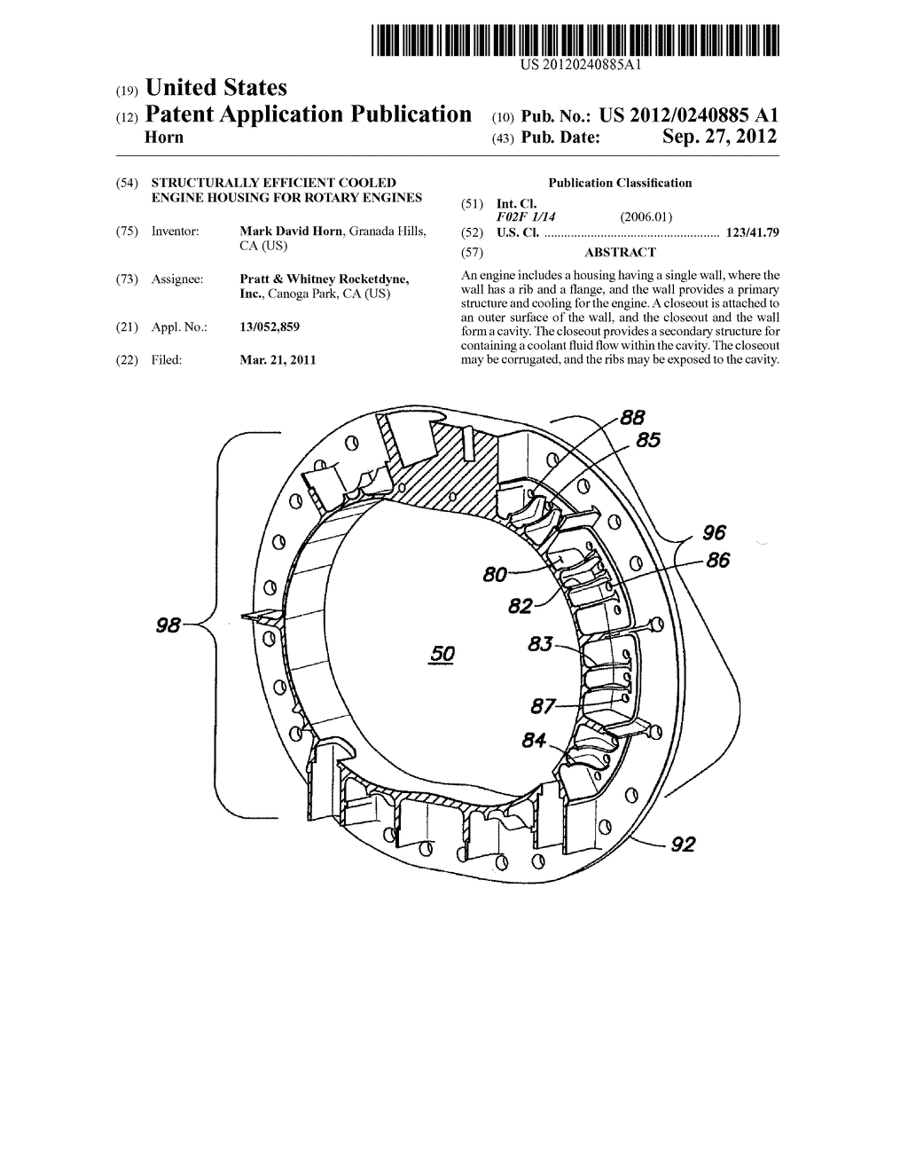 hight resolution of structurally efficient cooled engine housing for rotary engines diagram schematic and image 01