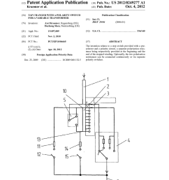 tap changer with a polarity switch for a variable transformer diagram schematic and image 01 [ 1024 x 1320 Pixel ]