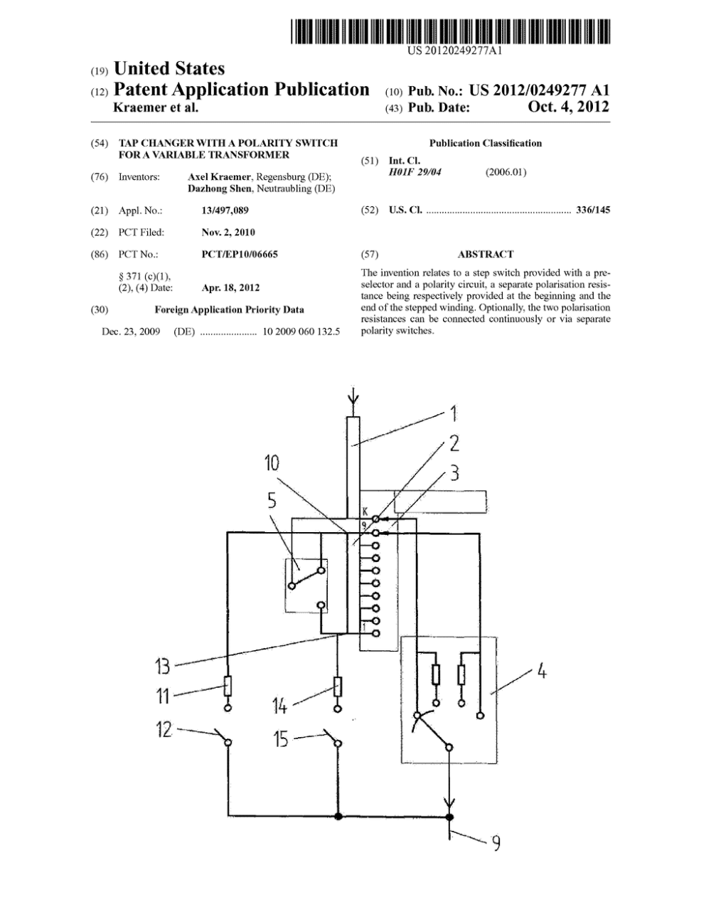 medium resolution of tap changer with a polarity switch for a variable transformer diagram schematic and image 01