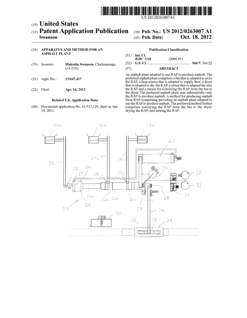 small resolution of apparatus and method for an asphalt plant diagram schematic and image 01