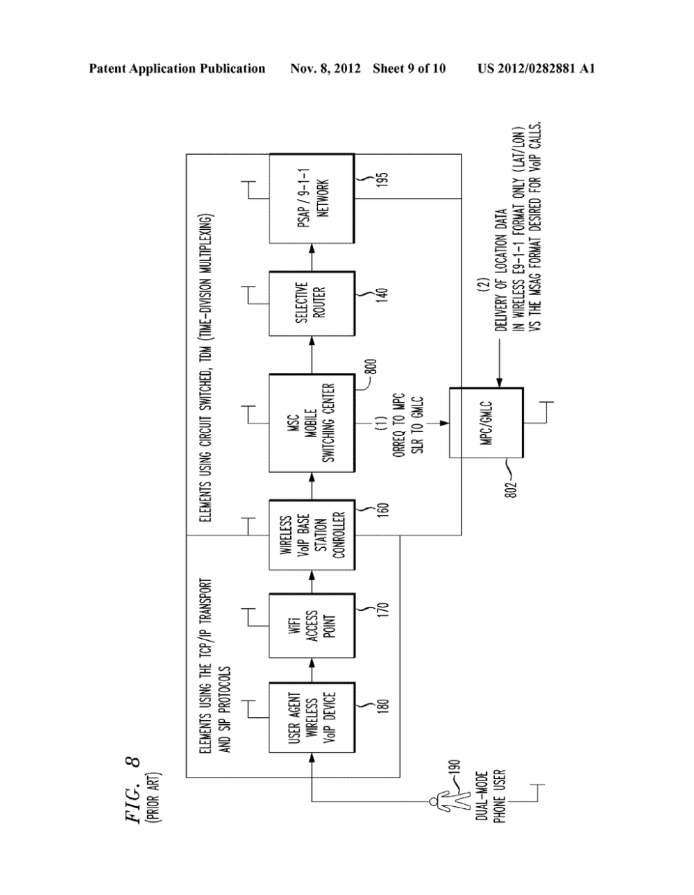 medium resolution of ss7 ansi 41 to sip based call signaling conversion gateway for wireless voip e911 diagram schematic and image 10