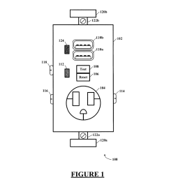 combination gfci afci receptacle with class 2 power units diagram schematic and image 02 [ 1024 x 1320 Pixel ]