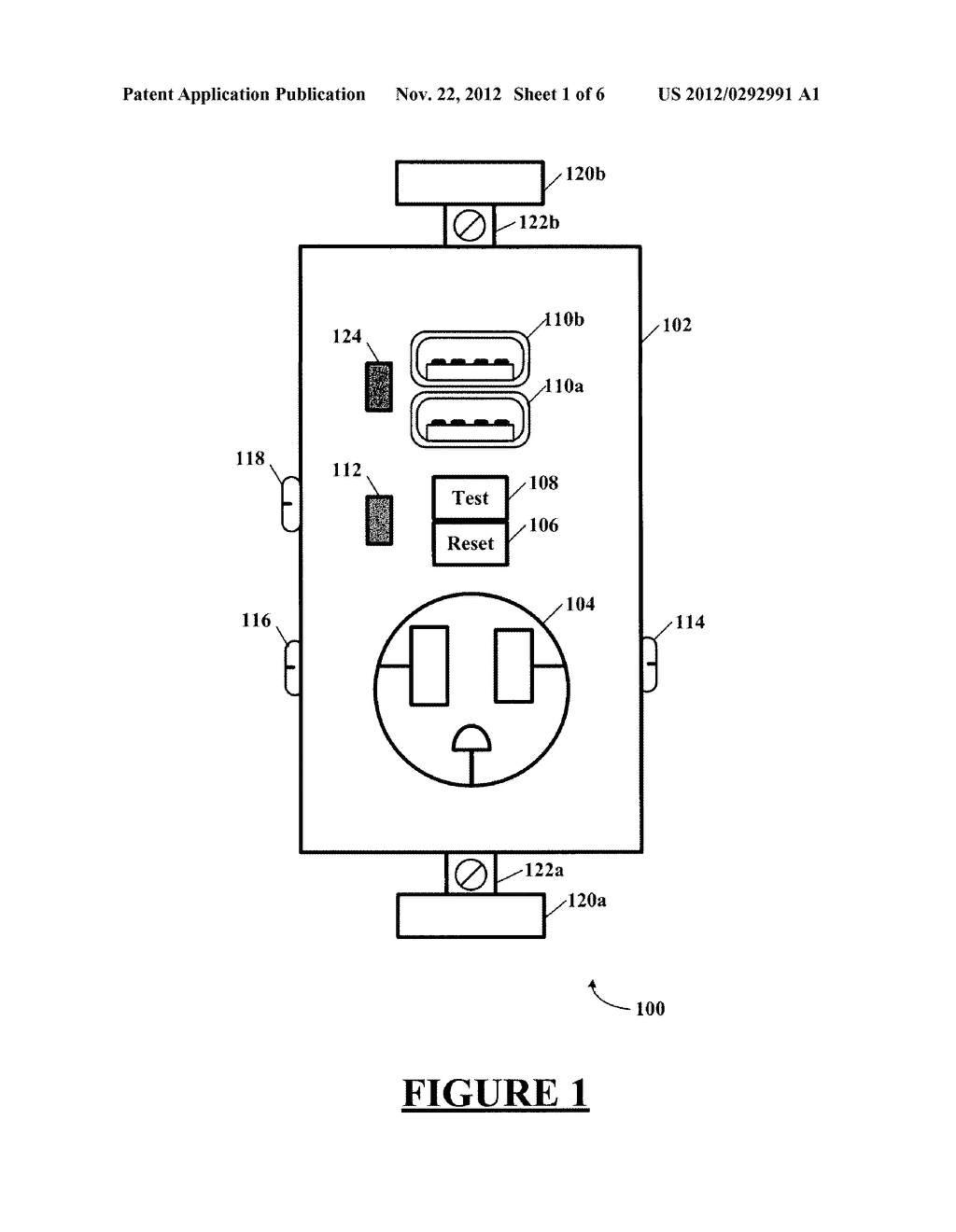 hight resolution of combination gfci afci receptacle with class 2 power units diagram schematic and image 02