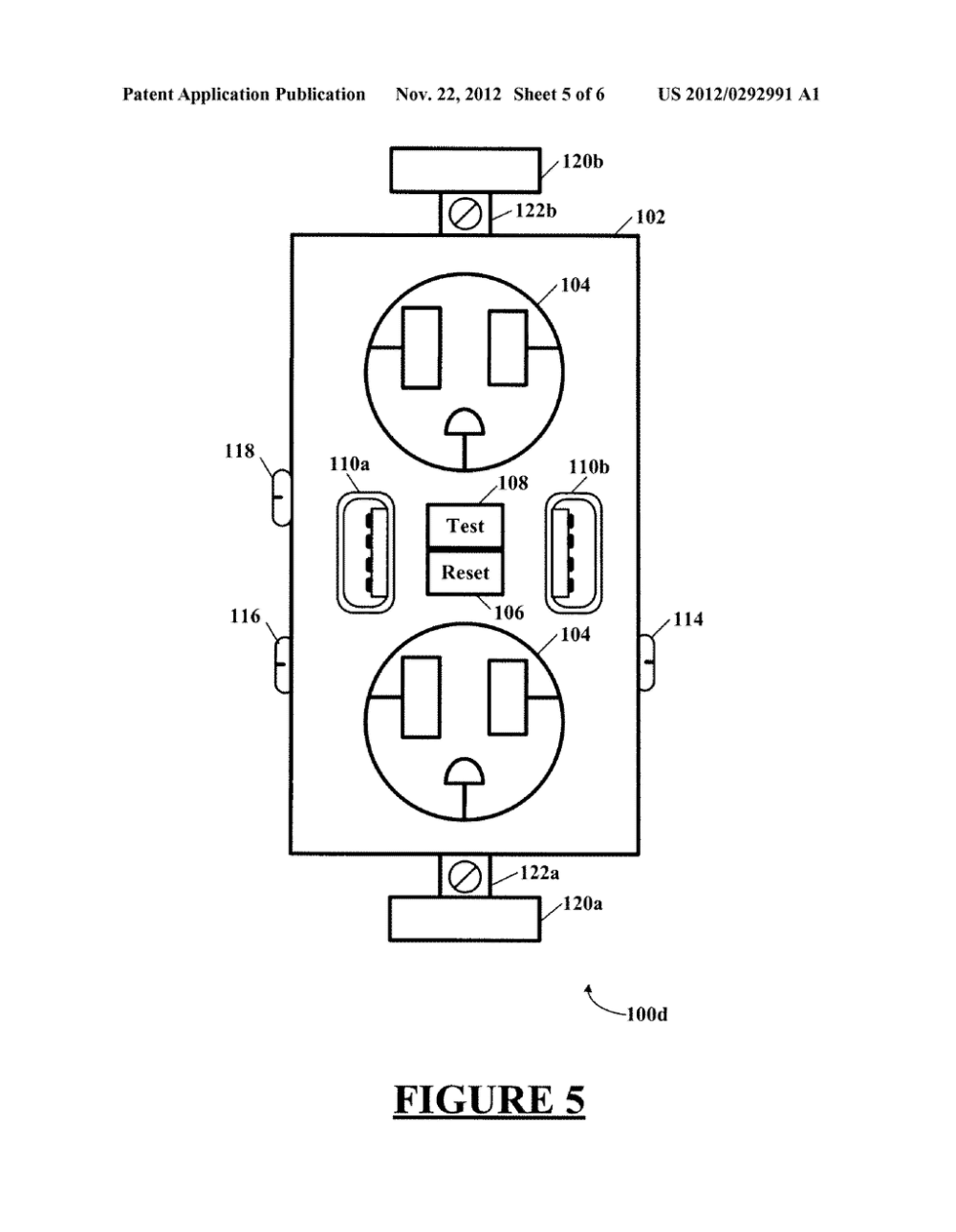 medium resolution of combination gfci afci receptacle with class 2 power units diagram schematic and image 06