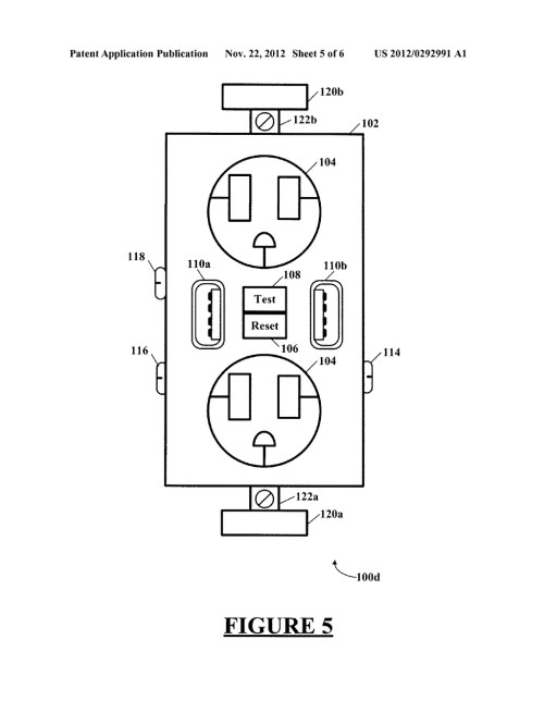small resolution of combination gfci afci receptacle with class 2 power units diagram schematic and image 06