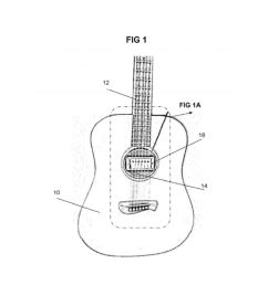 interface adapter for installation of a standard magnetic pickup into an acoustic guitar sound hole diagram schematic and image 02 [ 1024 x 1320 Pixel ]