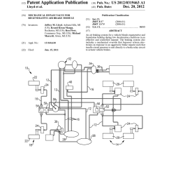 mechanical bypass valve for regenerative air brake module diagram schematic and image 01 [ 1024 x 1320 Pixel ]