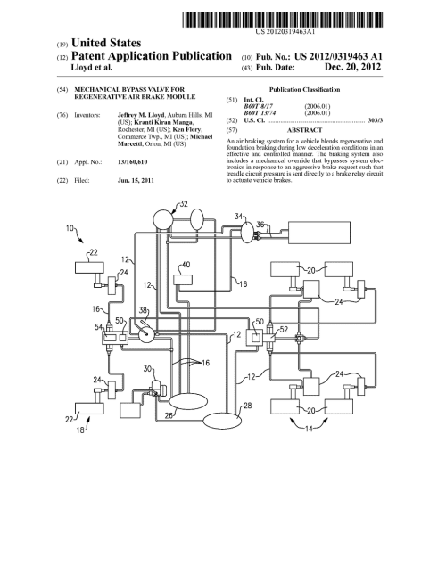 small resolution of mechanical bypass valve for regenerative air brake module diagram schematic and image 01