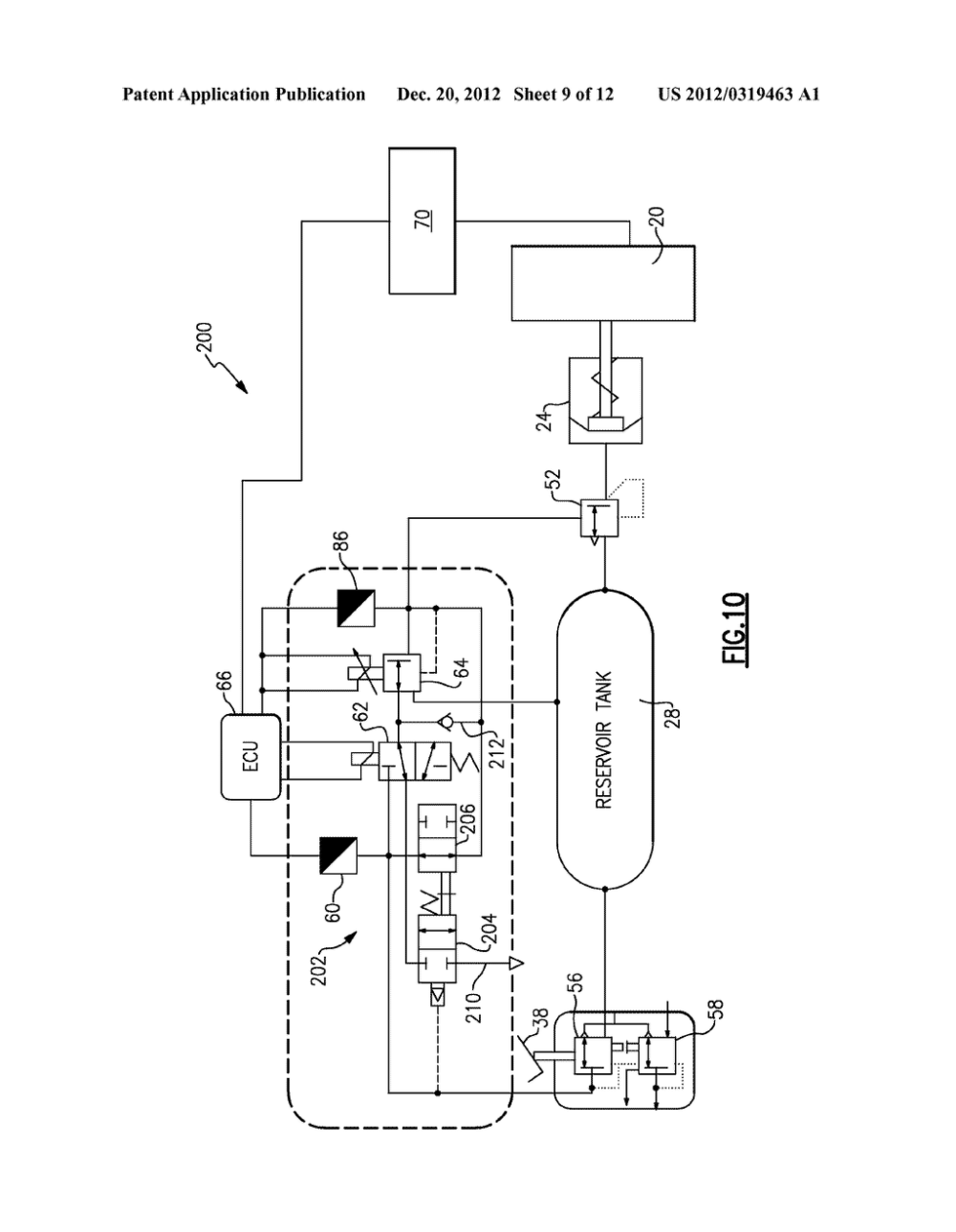 medium resolution of mechanical bypass valve for regenerative air brake module diagram schematic and image 10