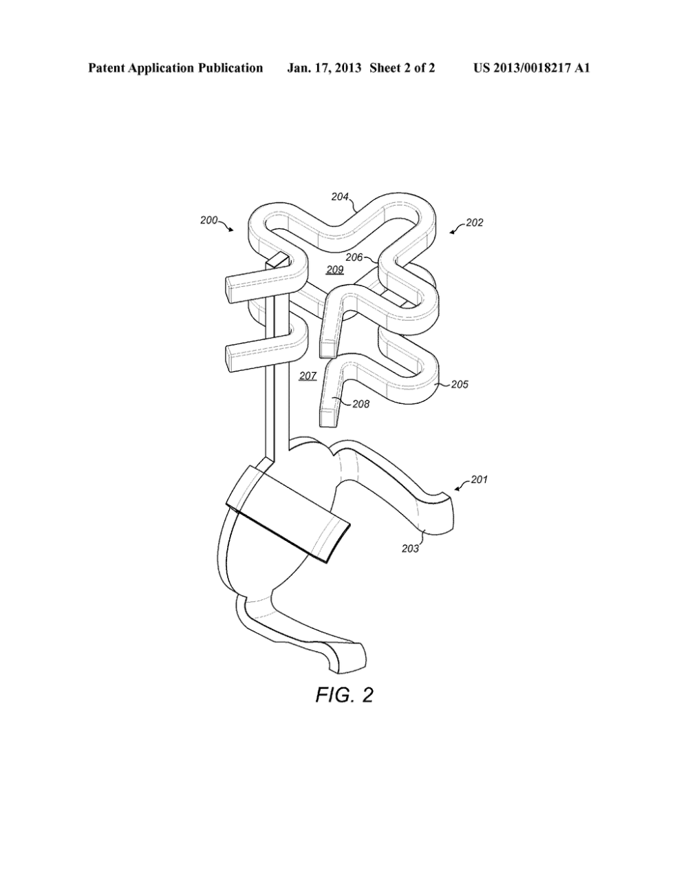 medium resolution of clover shape attachment for implantable floating mass transducer diagram schematic and image 03