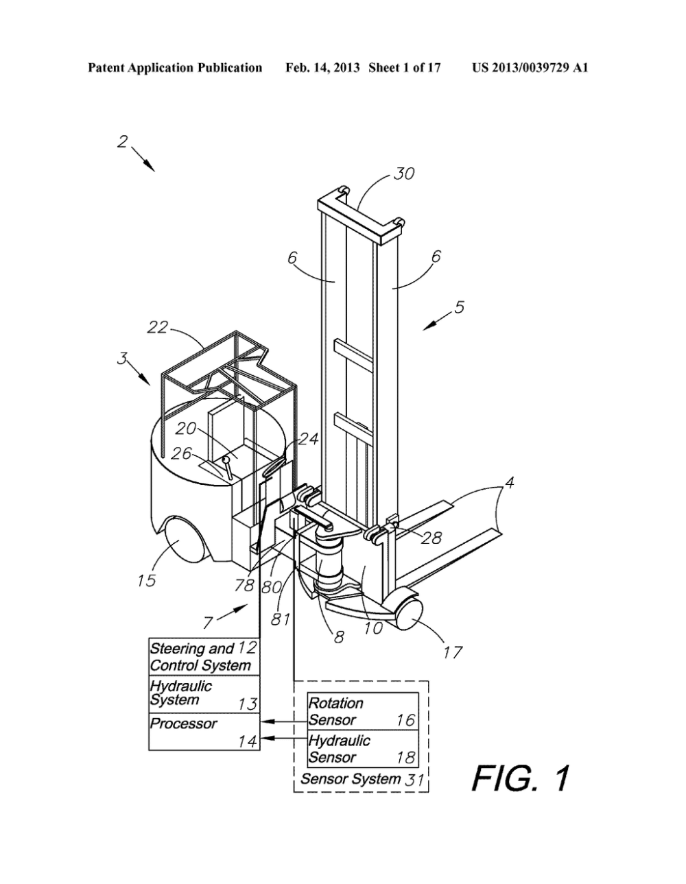 medium resolution of hydraulic steering system for forklift trucks diagram schematic and image 02