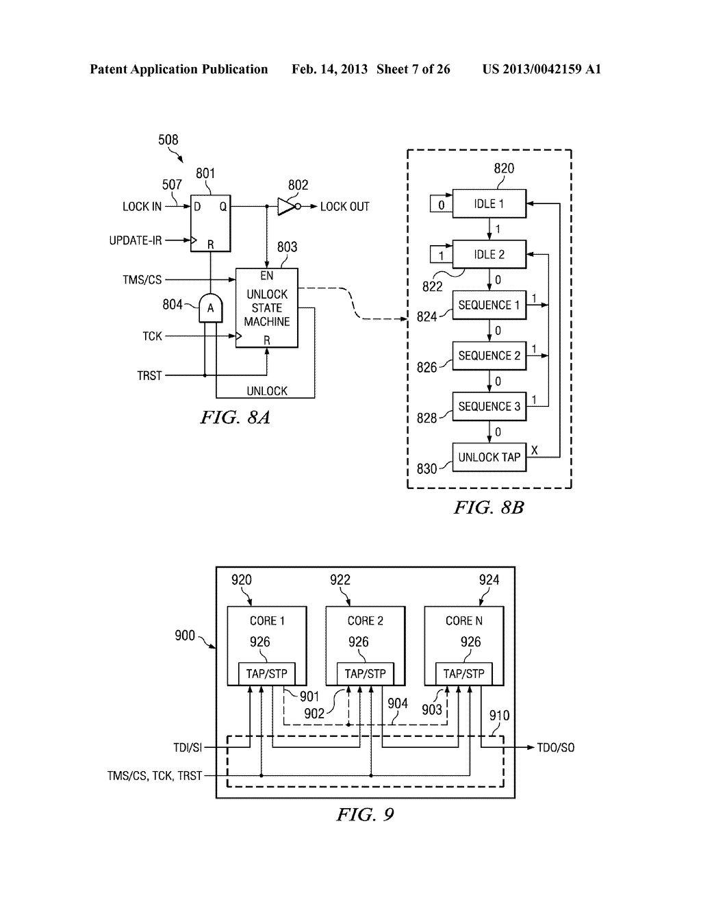hight resolution of lock state machine operations upon stp data captures and shifts diagram schematic and image 08