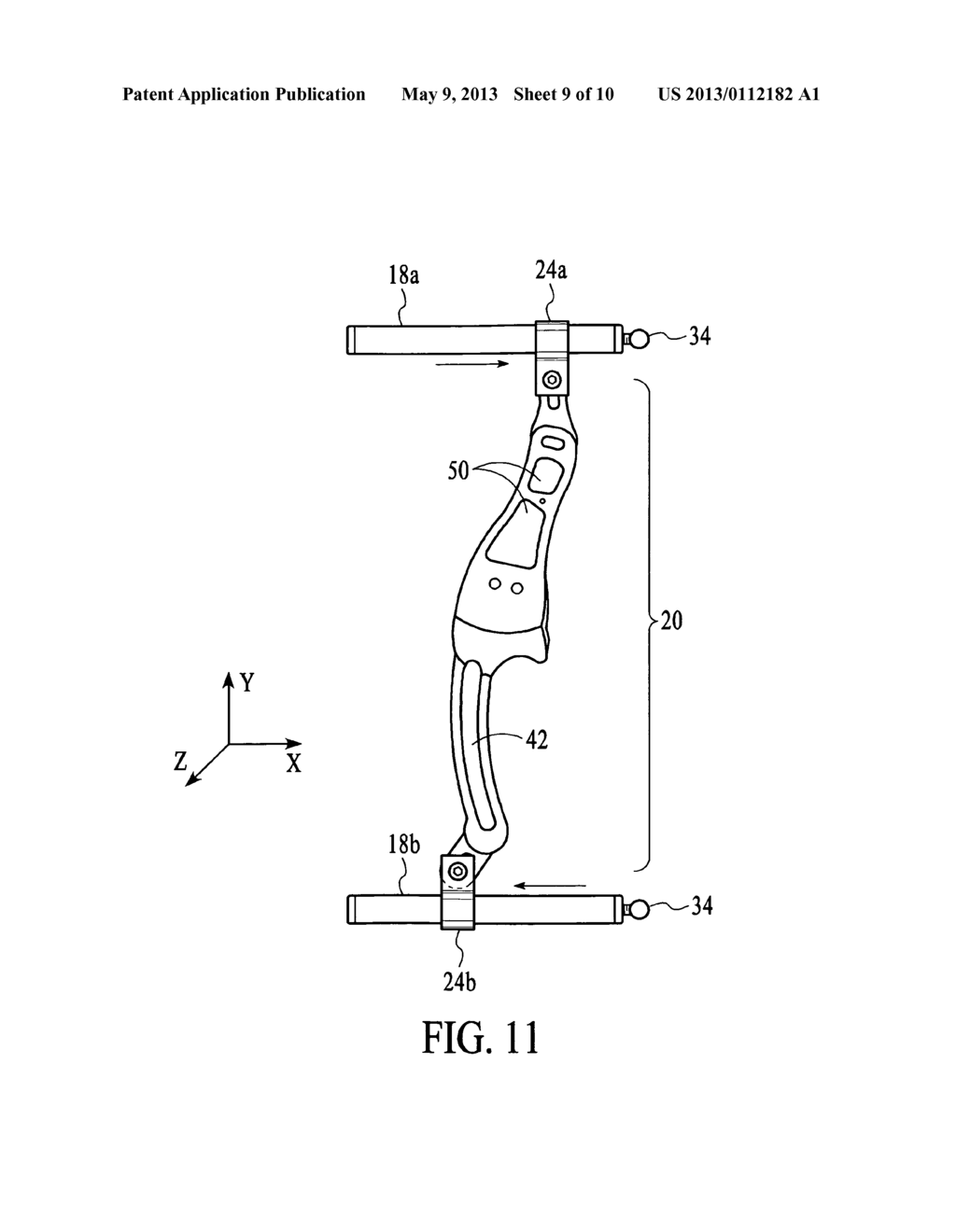hight resolution of archery bows with brace rod receivers and brace rods for mounting bow handle grip in variable positions relative to archery bows diagram schematic