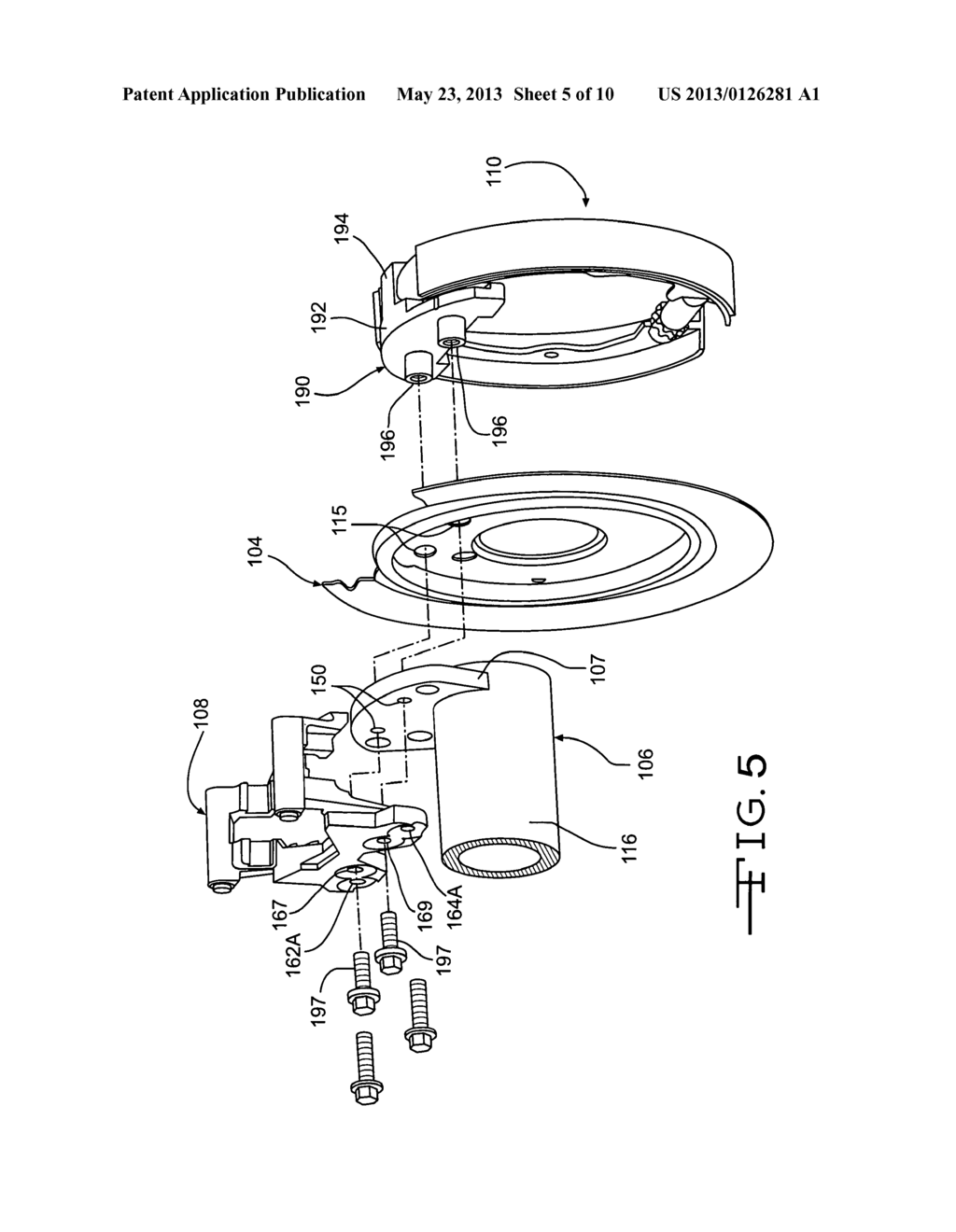 hight resolution of disc brake assembly diagram
