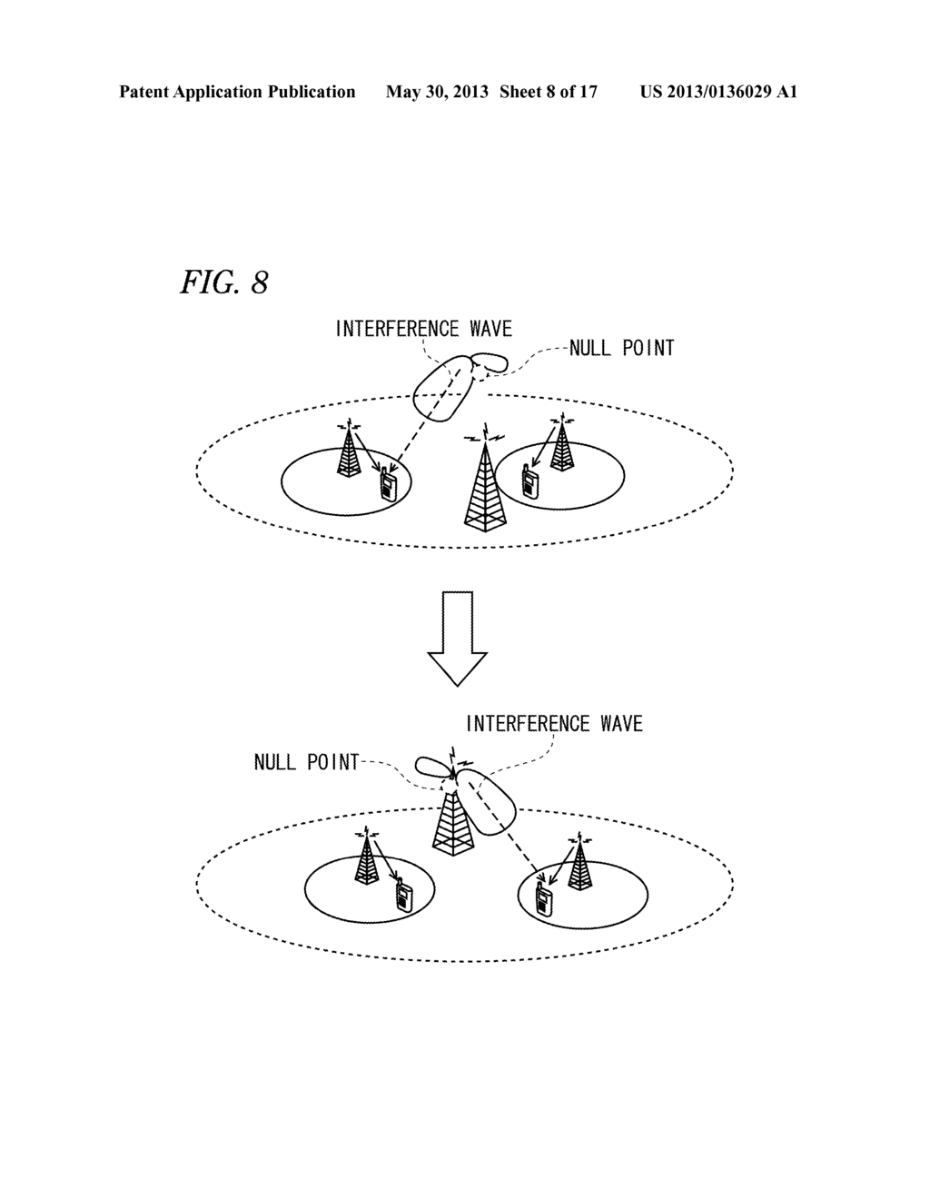 hight resolution of wireless communication system low transmission power cell base station macrocell base station wireless terminal and load distribution method diagram