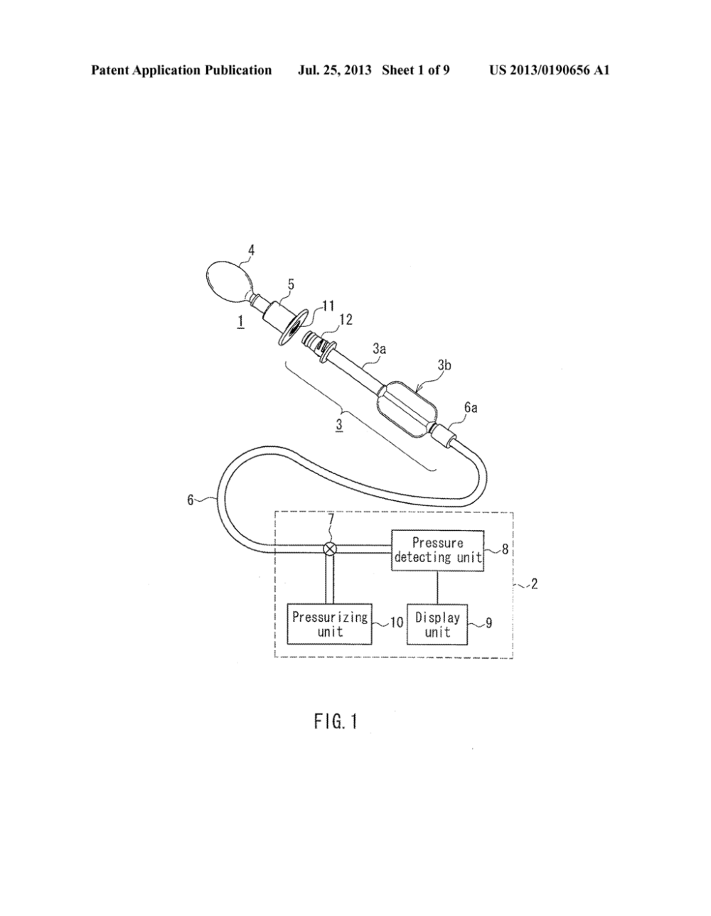 medium resolution of device for measuring oral cavity pressure pressure measuring probe diagram schematic and image 02