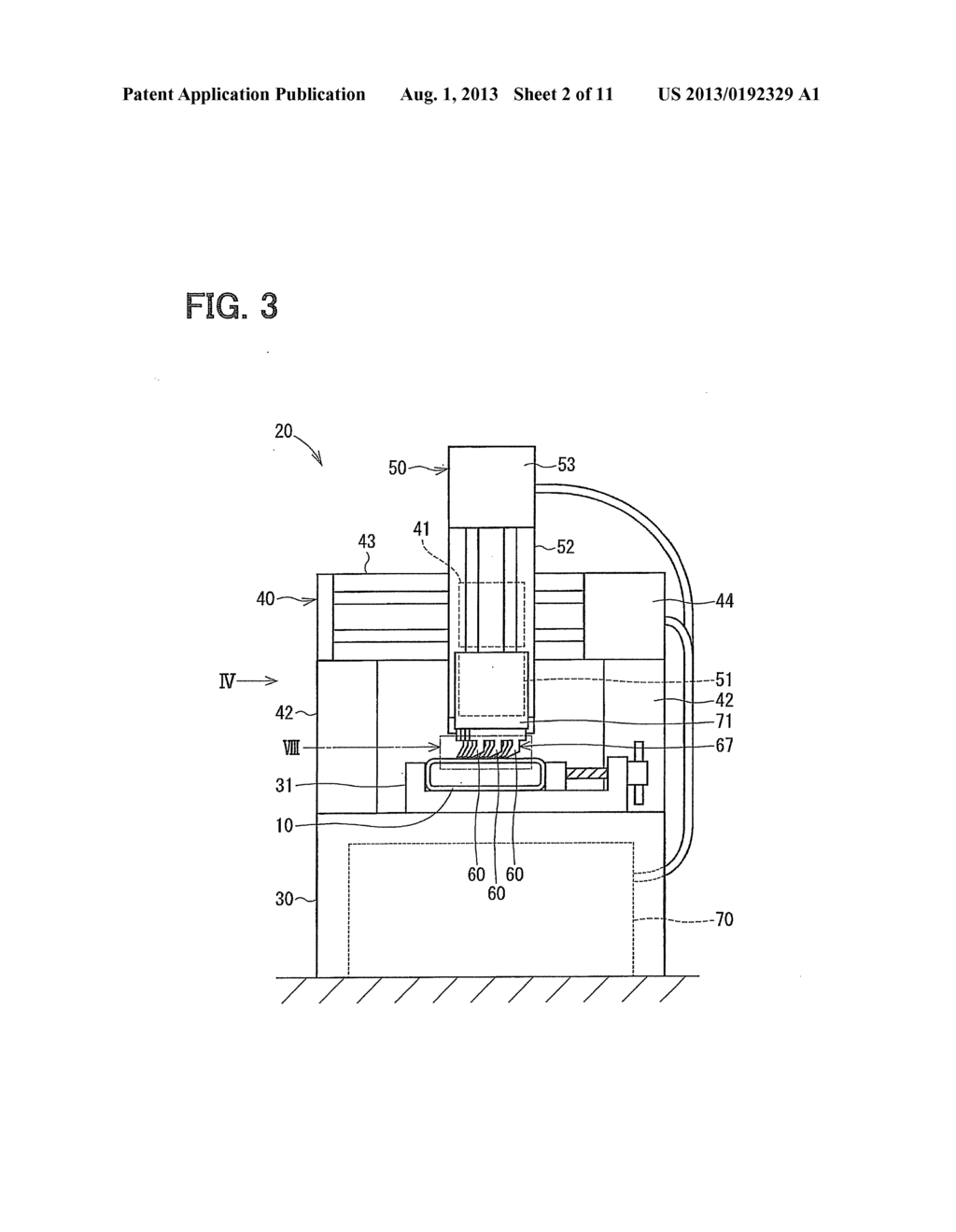 hight resolution of protrusion forming device and method for forming protrusion part for heat exchanger diagram schematic and image 03