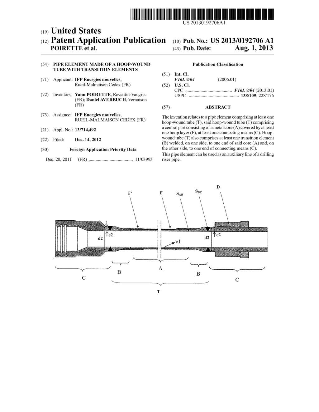 hight resolution of pipe element made of a hoop wound tube with transition elements diagram schematic and image 01