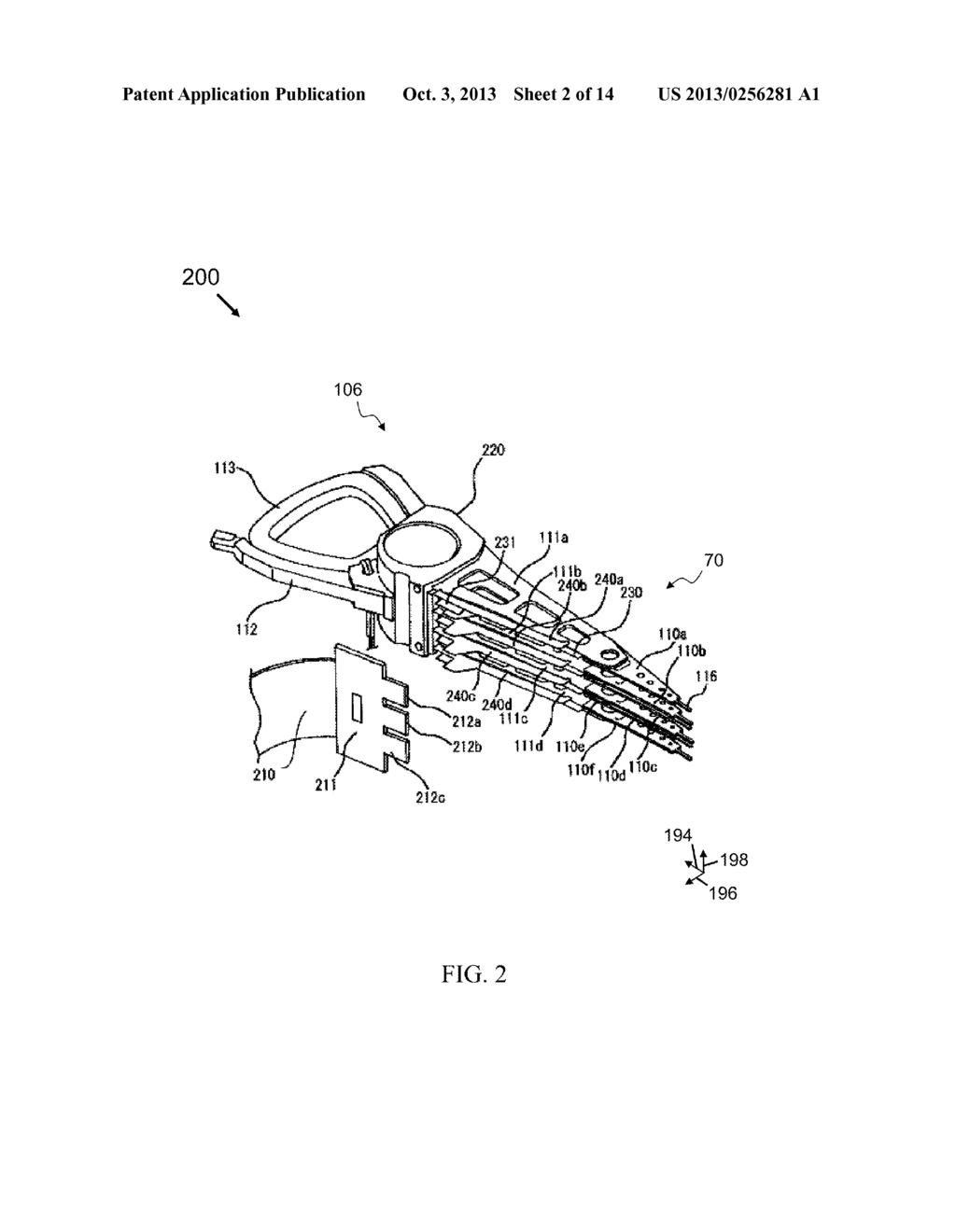 Laser Head Diagram