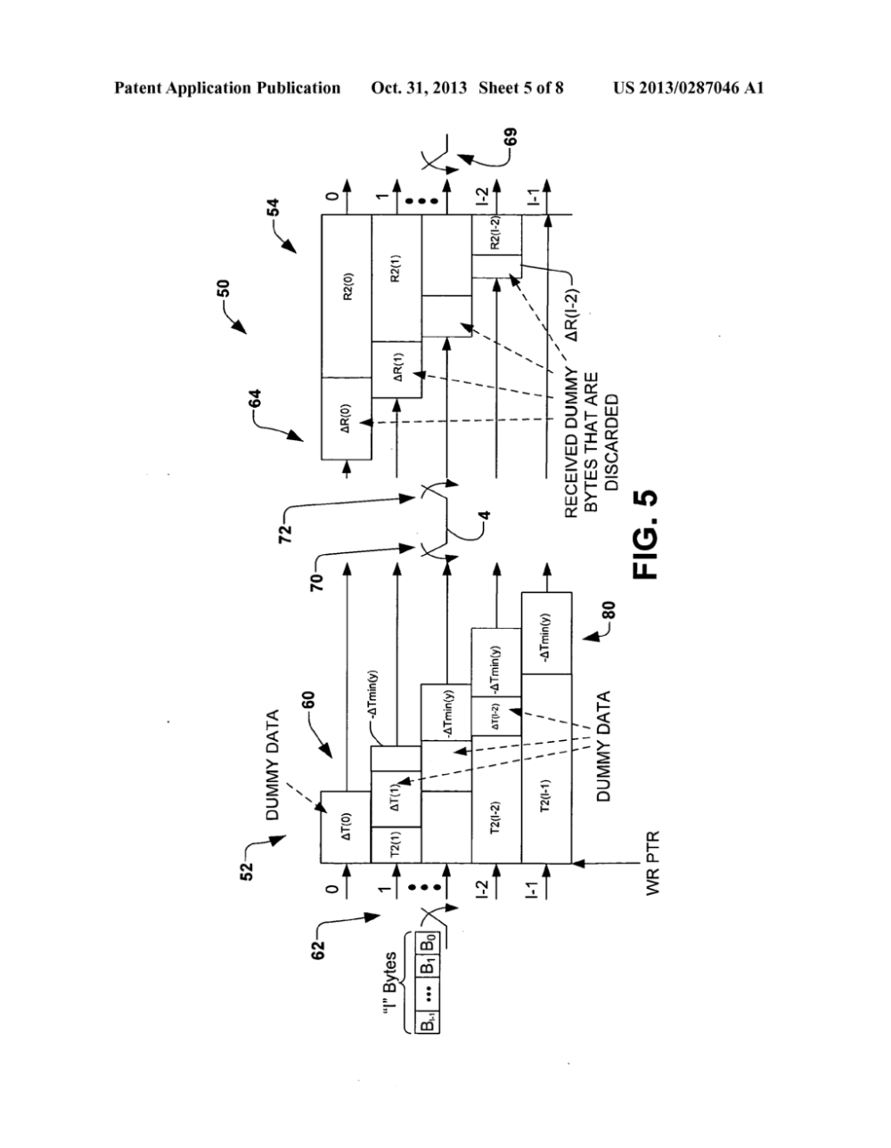 medium resolution of seamless change of depth of a general convolutional interleaver during transmission without loss of data diagram schematic and image 06