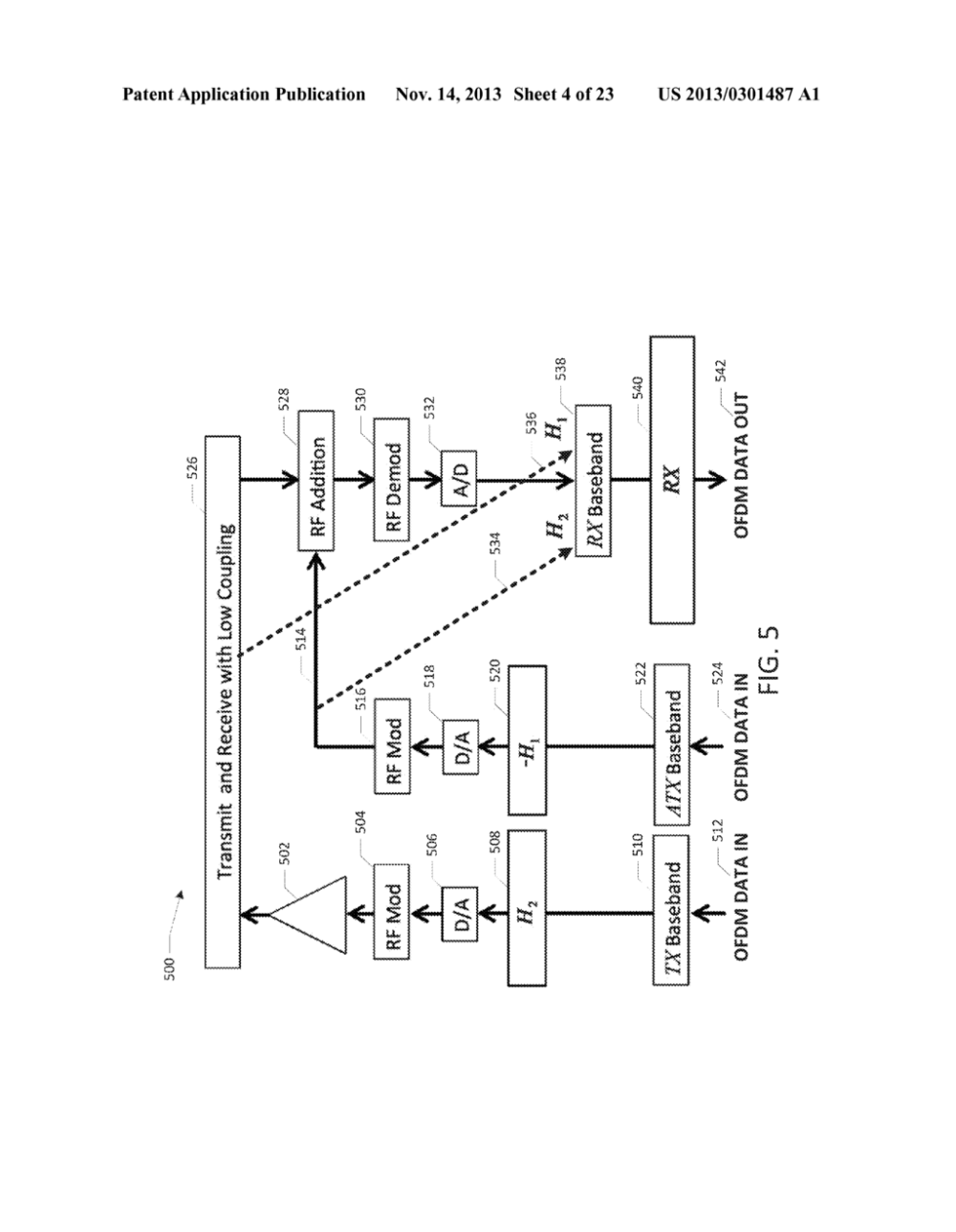 medium resolution of full duplex wireless transmission with self interference cancellation diagram schematic and image 05