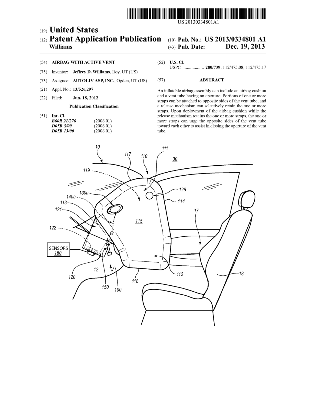 Airbag Schematic Fabric Diagram - numerical ysis of the ... on