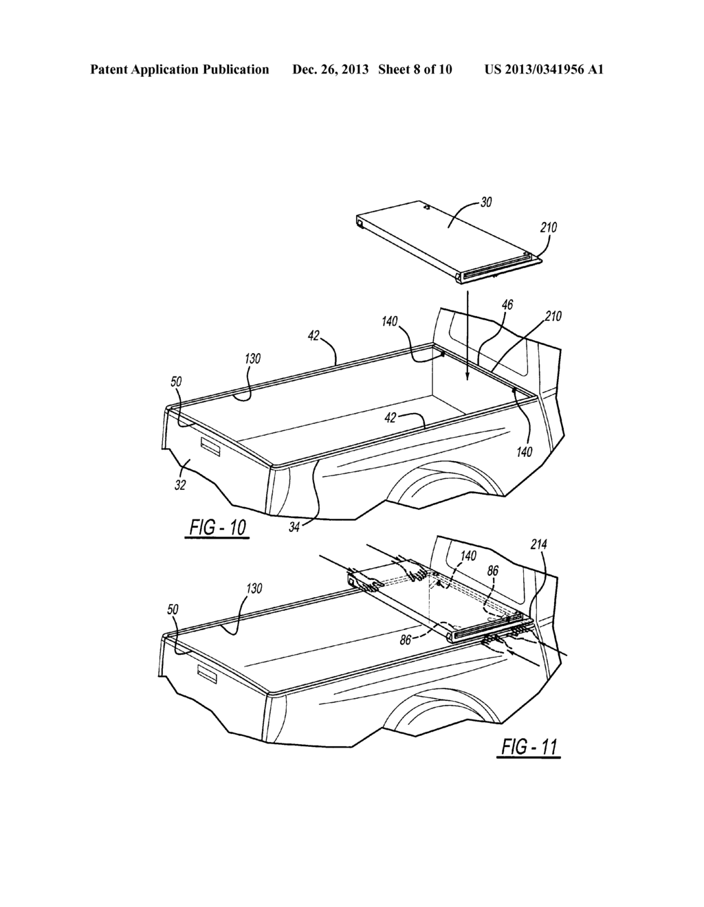 Tonneau cover apparatus for a pickup truck bed diagram schematic