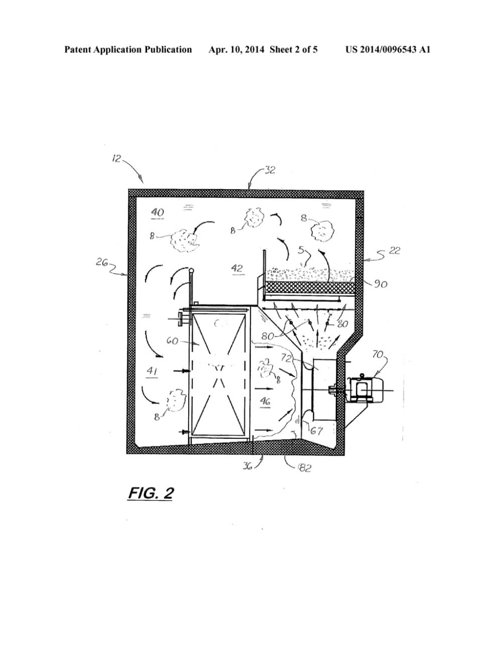 medium resolution of fluidized bed conveyor belt freezer system diagram schematic and image 03