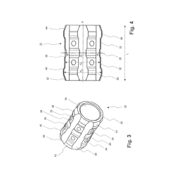 bolt guide device for a floating caliper disc brake and corresponding floating caliper disc brake diagram schematic and image 03 [ 1024 x 1320 Pixel ]