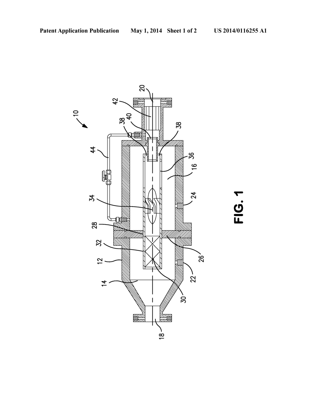 hight resolution of diagram of a separator
