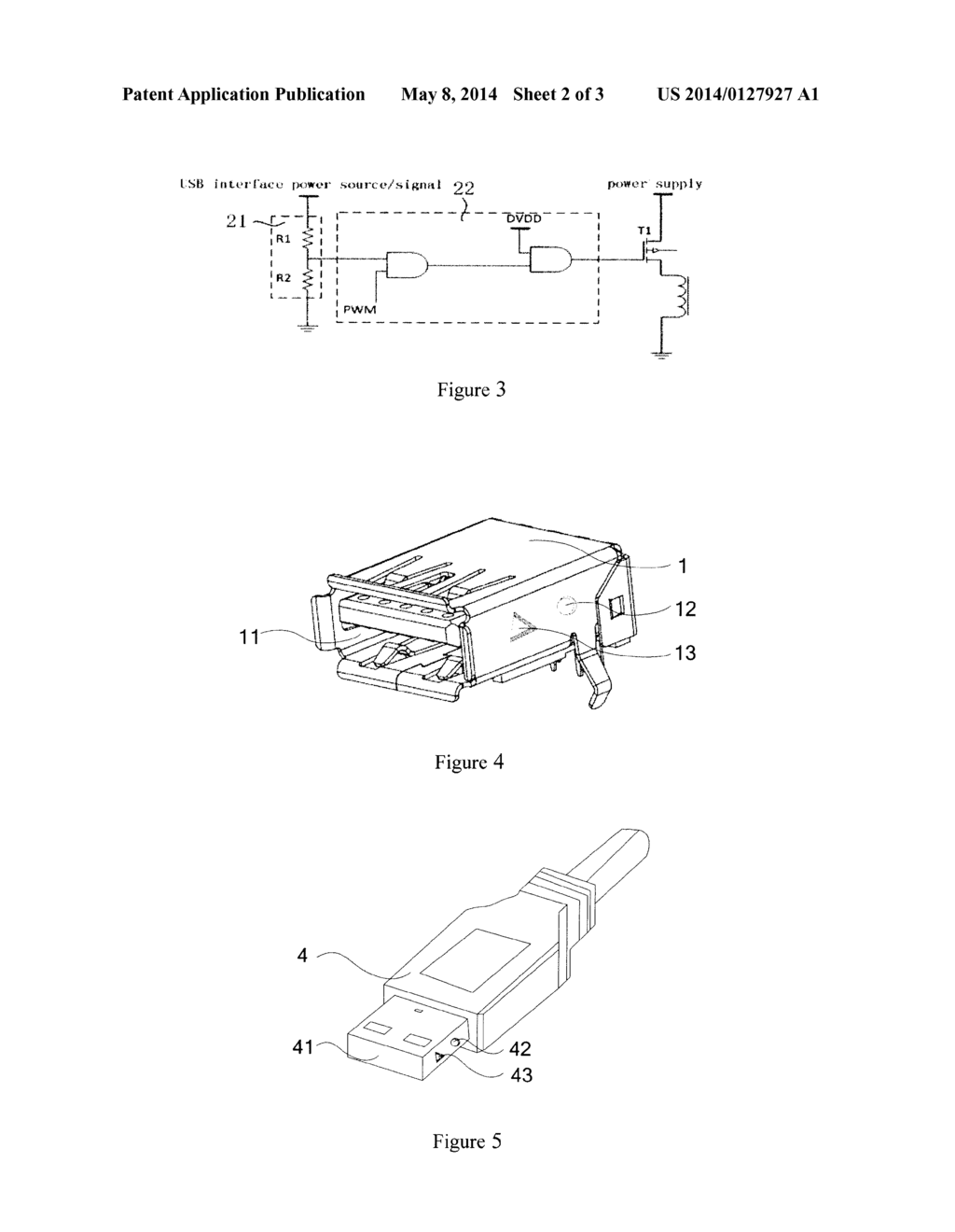 hight resolution of usb male end usb female end and usb port connection device diagram schematic and image 03