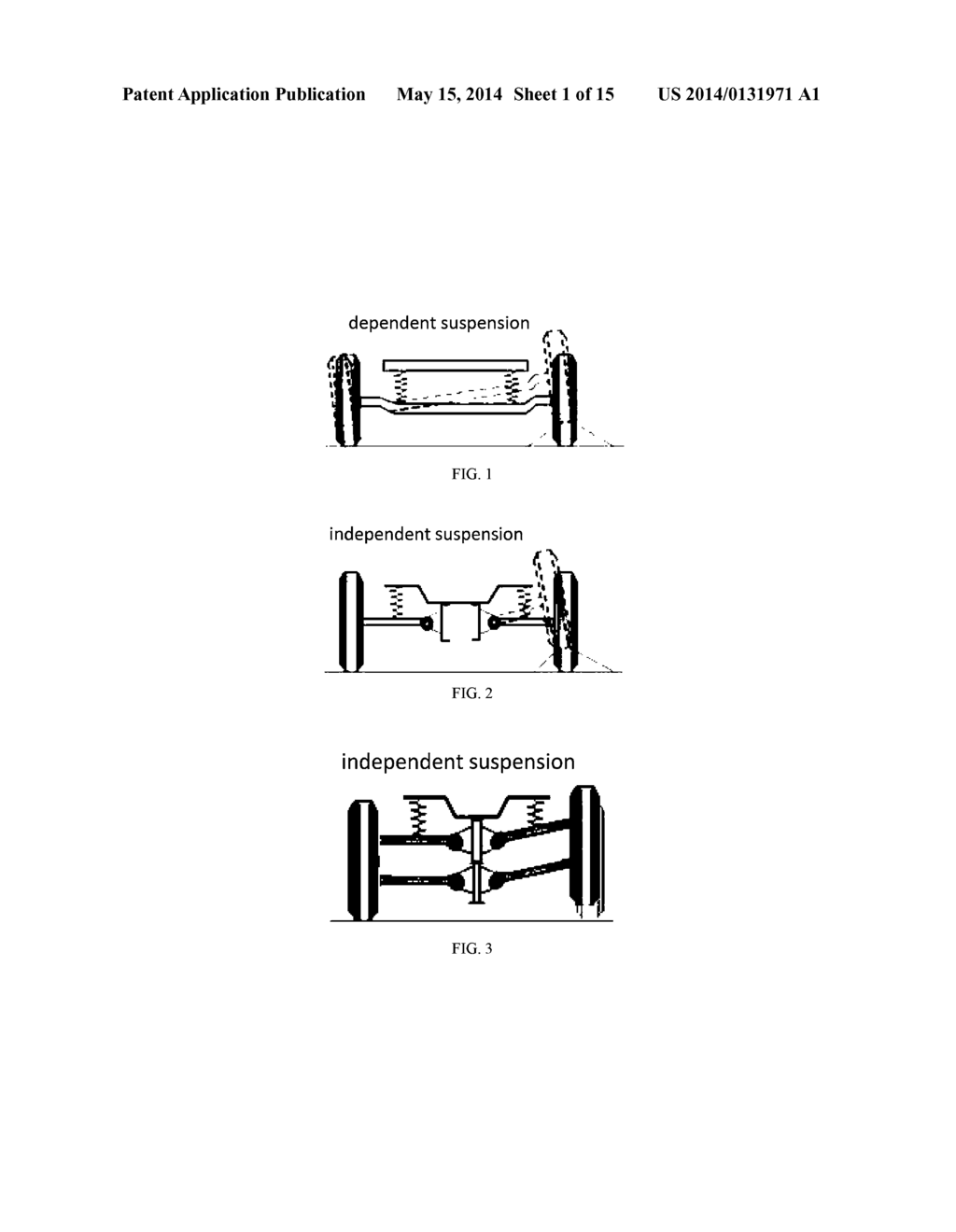 hight resolution of independent suspension system with self compensated floating swing arm diagram schematic and image 02