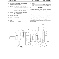 90 Degree Diagram Visual Studio View Class Four Counterweight Crankshaft For V6 Engine Schematic And Image 01