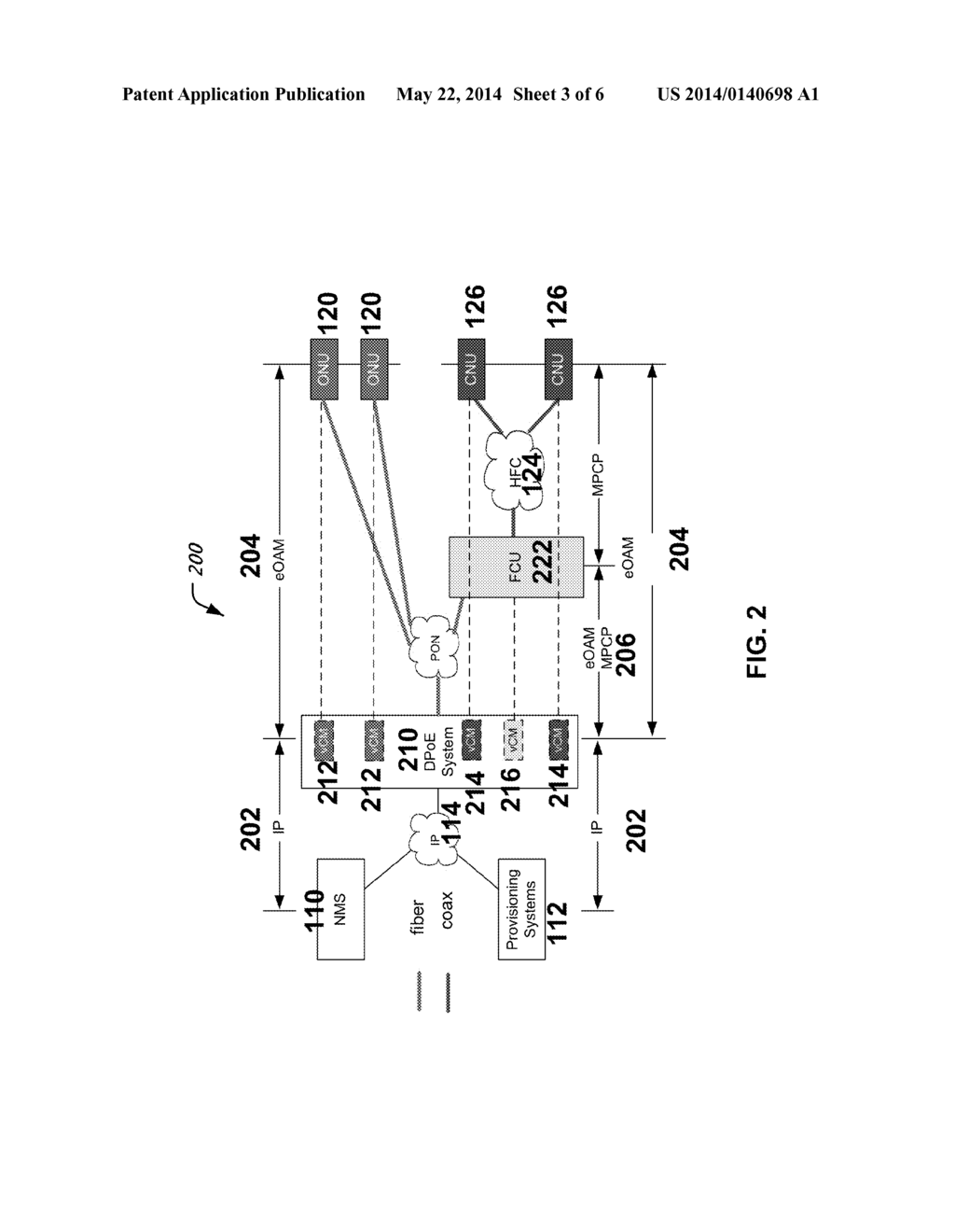 hight resolution of fiber coax unit fcu architecture for ethernet passive optical network epon protocol over coax epoc diagram schematic and image 04