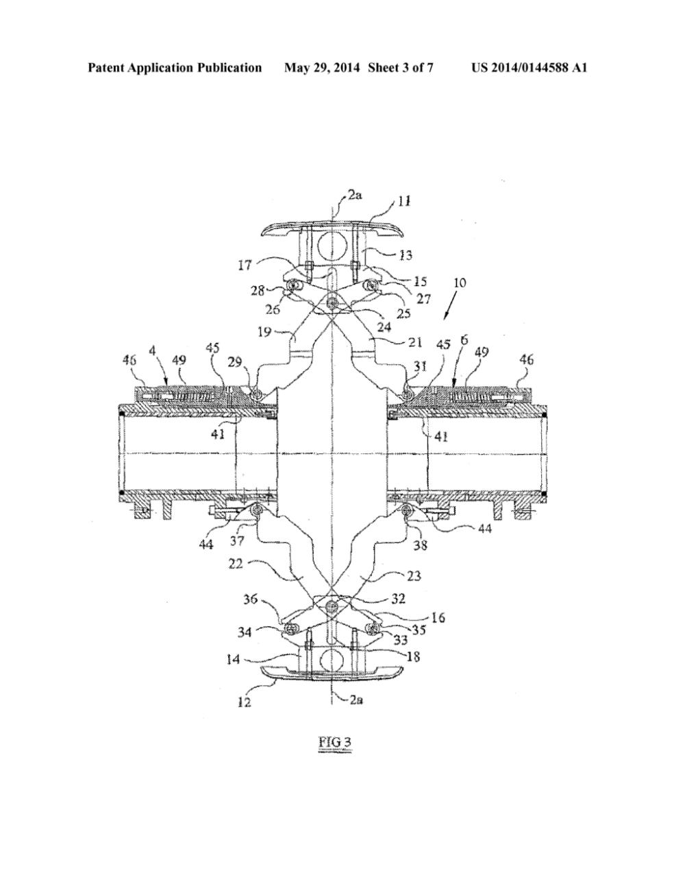 medium resolution of tire building drum having sequenced segment expansion diagram schematic and image 04