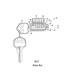 pick resistant lock cylinder using torque resistance diagram schematic and image 03 [ 1024 x 1320 Pixel ]