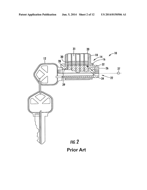 small resolution of pick resistant lock cylinder using torque resistance diagram schematic and image 03