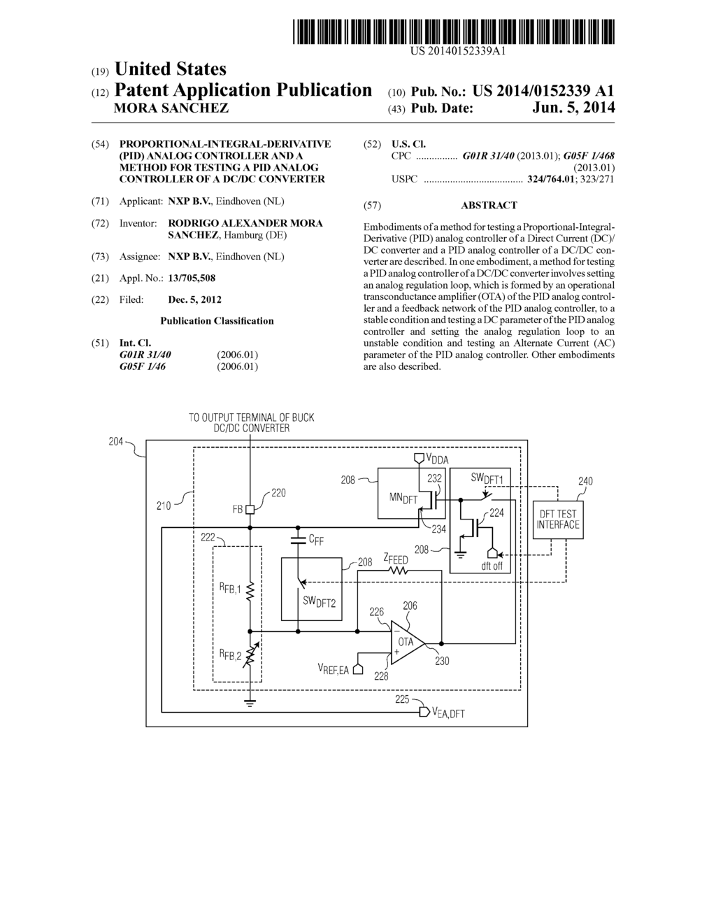 hight resolution of proportional integral derivative pid analog controller and a method for testing a pid analog controller of a dc dc converter diagram schematic
