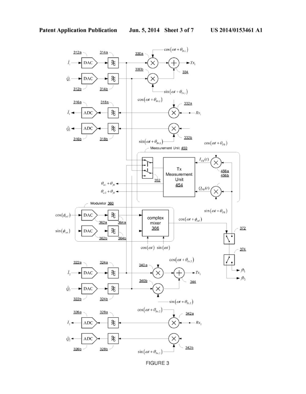 medium resolution of envelope tracker driven transmit beamforming diagram schematic and image 04