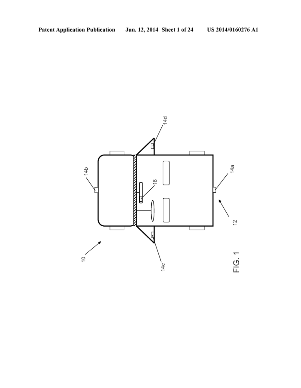 medium resolution of vehicle vision system with trailer angle detection diagram schematic and image 02
