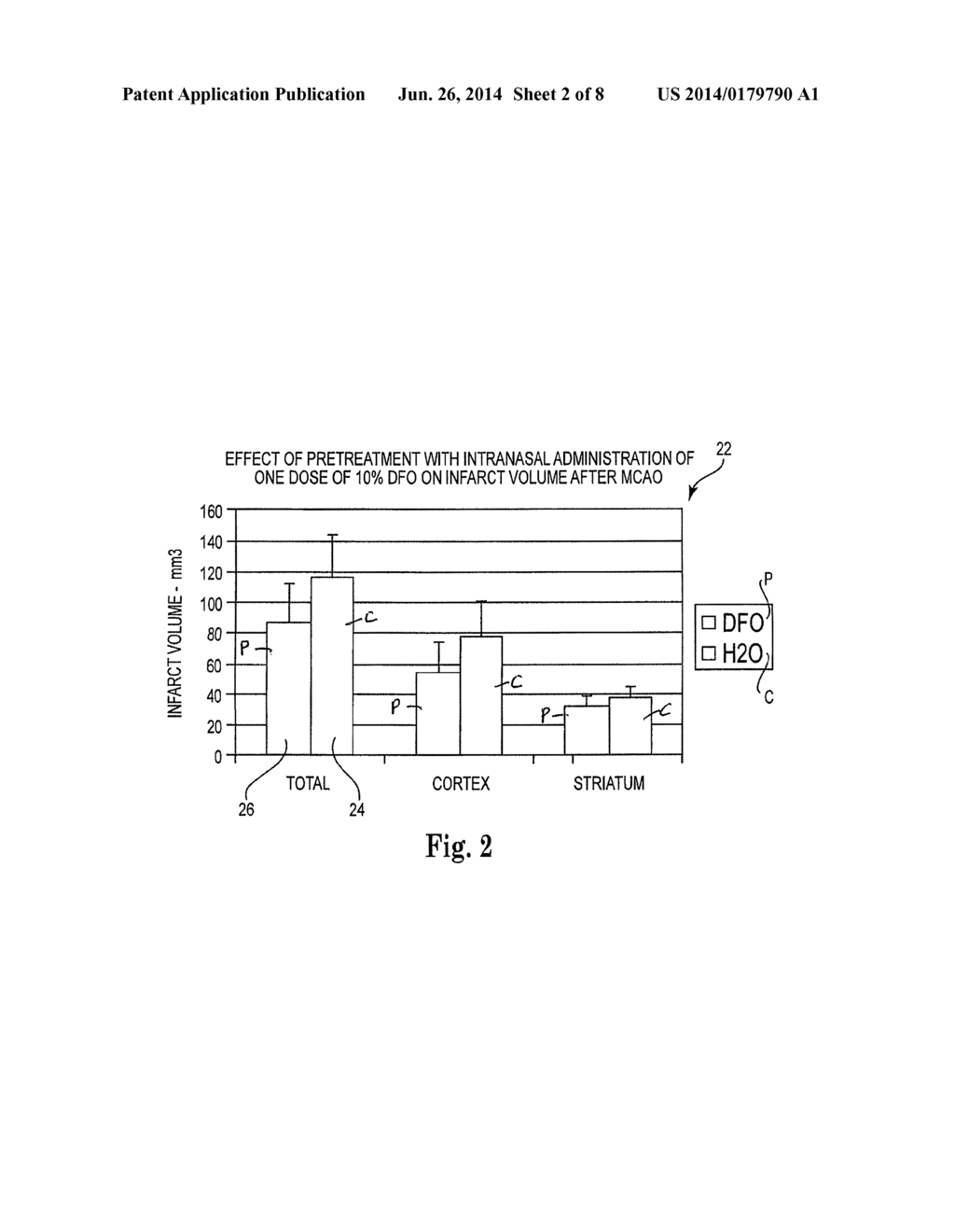 hight resolution of method of treating traumatic brain injury head injury comprising administering metal chelators to the upper one third of the nasal cavity diagram