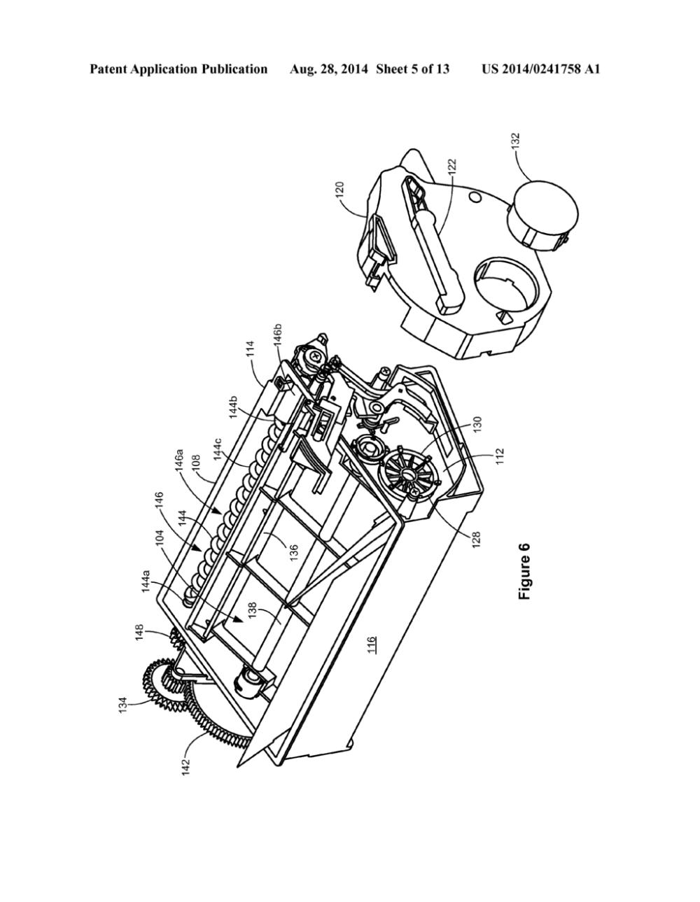 medium resolution of toner cartridge having a shutter lock mechanism diagram schematic and image 06