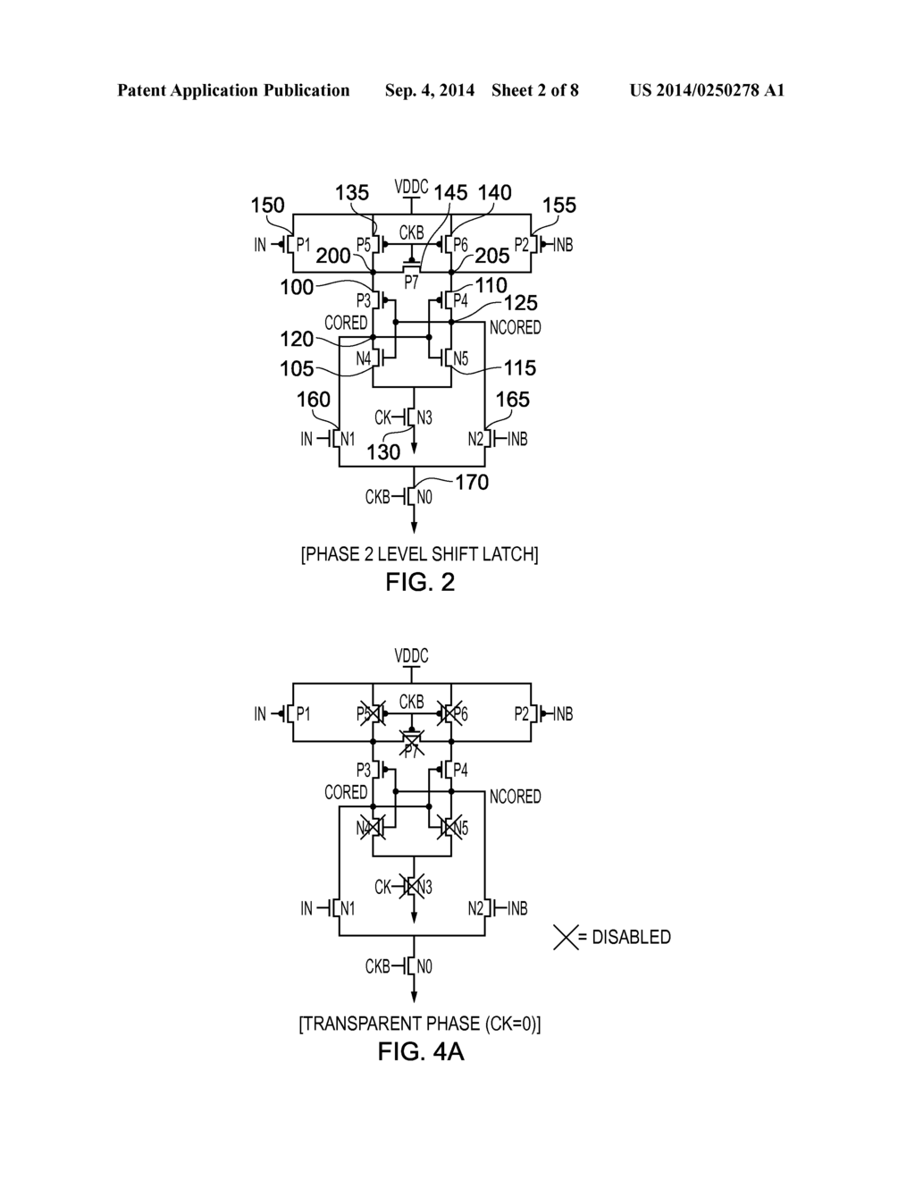 hight resolution of integrated level shifting latch circuit and method of operation of such a latch circuit diagram schematic and image 03