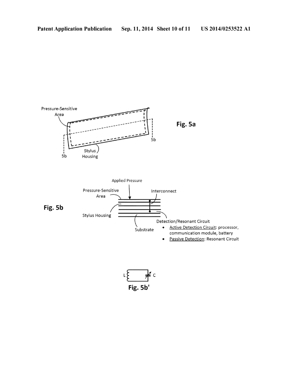 hight resolution of stylus based pressure sensitive area for ui control of computing device diagram schematic and image 11