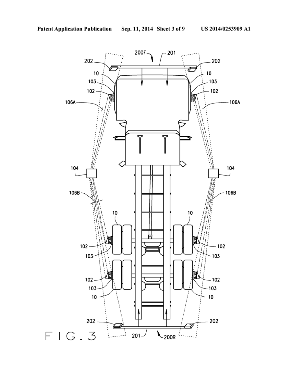 medium resolution of method and apparatus for multi axle vehicle alignment with vehicle frame reference diagram schematic and image 04