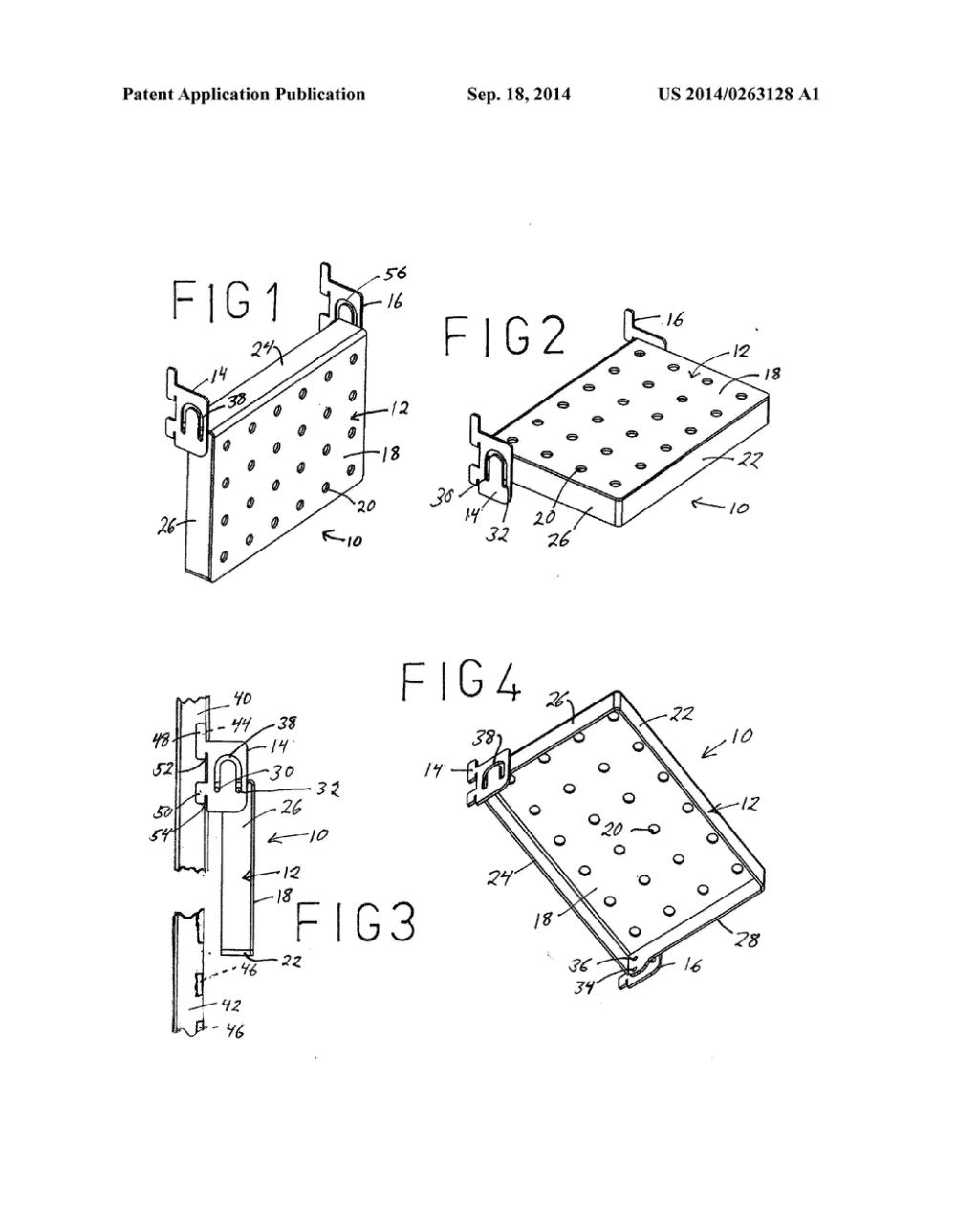 medium resolution of convertible gondola shelving diagram schematic and image 02diagram of gondola 19