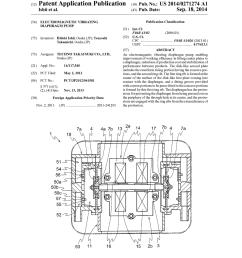 electromagnetic vibrating diaphragm pump diagram schematic and image 01 [ 1024 x 1320 Pixel ]