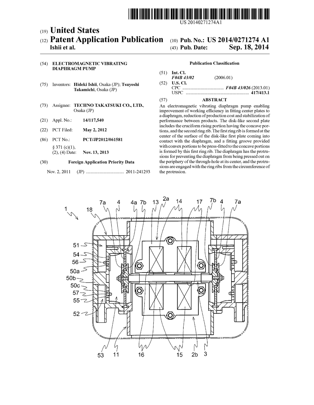 hight resolution of electromagnetic vibrating diaphragm pump diagram schematic and image 01